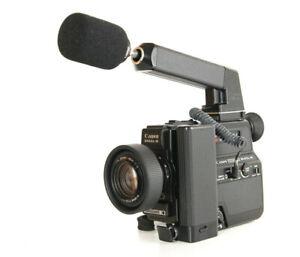Canon 514 XL-S Super 8  Movie Camera, CANOSOUND, Working, Great Condition