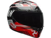 Casque moto de route intégral BELL Qualifier DLX Mips Isle Of man 18 Rouge Noir