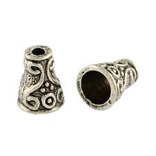 20 Perlenkappen 10mm Tibet Antik Versilbert Imame Tesbih Schmuck BEST M512