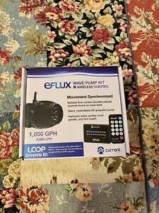 EFLUX LOOP WAVE PUMP 1050 GPH KIT AQUARIUM POWERHEAD UP TO 75 GALLON