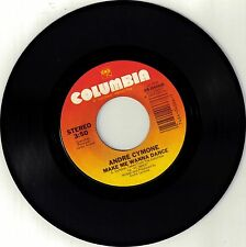 CYMONE, Andre  (Make Me Wanna Dance)  Columbia 38-4066 + Picture sleeve