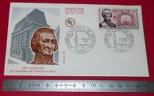 ENVELOPPE 1er JOUR PHILATELIE 1971 150e ANNIVERSAIRE ACADEMIE DE MEDECINE PARIS