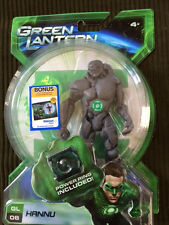 "2010 DC Comics Green Lantern Movie Hannu #8 Action Figure 5"" NEW Power Ring"