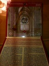 BLISTER 2 EURO SAINT MARIN 2005 GALILEE AVEC PENDULE COMMEMORATIVE NEUF