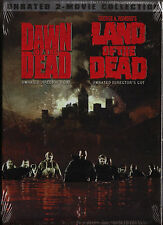Dawn Of The Dead/Land Of The Dead. Unrated Twin Box Set