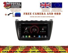 "9"" RADIO DVD GPS NAVI ANDROID 9.1 DAB+ CARPLAY WIFI  MAZDA 6 2008-12 DK9615"