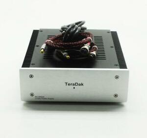 TeraDak DC12V+12V update Lower Noise Linear Power Supply