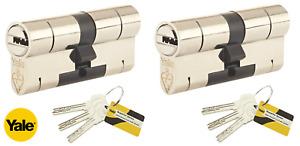 Yale Superior Euro Cylinder Lock Anti Pick Bump High Security uPVC Door Barrel
