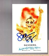 2010 Topps Allen and Ginter #199 Summer Sanders Hand Signed ZWB 2339