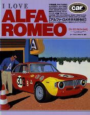 [BOOK] I LOVE ALFA ROMEO Giulia Giulietta Spider GTA TI Tipo 33/2 SZ TZ 33 90