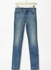 |GAP 1969 Slim Straight Vintage Blue Jeans 24 Regular Womens