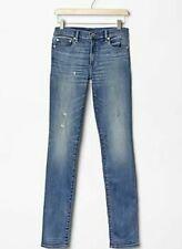 | GAP 1969 Slim Straight Bleu Vintage Jeans 24 Regular pour Femme