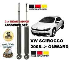 VW SCIROCCO 137 2008--> 1.4 2.0 TSI TDI  NEW 2x REAR SHOCKS ABSORBER SET