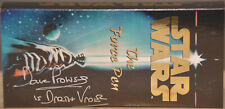 """Dave Prows """"DARTH VADER"""" autographed """"STAR WARS"""" ,""""THE FORCE PEN"""", Space Pen"""