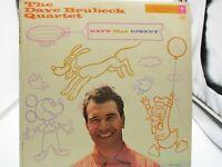 THE DAVE BRUBECK QUARTET Dave Digs Disney COLUMBIA  CL 1059 Mono 6 Eye VG+ v VG+