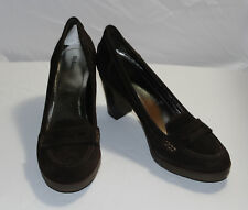 Style & Co Claire Size 10 Brown Leather Pumps Heels New Womens Shoes