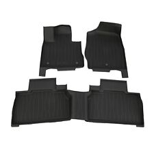 NEW OEM 2020-2021 Ford Explorer Tray Style Molded Floor Mat Mats Set GENUINE