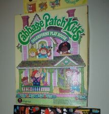 Rare Vintage Cabbage Patch Kids Magic-Glow Doll House Colorform Playhouse