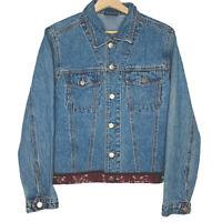 Vintage Y2K Australis Womens Blue Denim Jacket Size 10