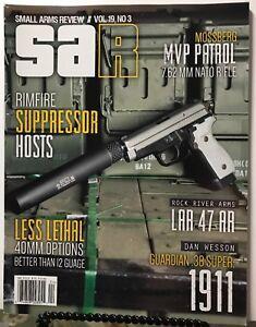 SAR Small Arms Review Rimfire Suppressor Mossberg Vol 19 #3 FREE SHIPPING JB
