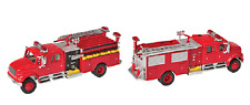 1:87 HO Scale International 4900 Fire Engine Die-Cast SceneMaster #949-11841