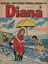 Diana Magazine No. 489 1 July 1972   The Sweet   Michael Jackson   Rod Stewart