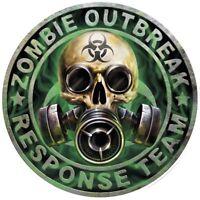 Zombie Outbreak Stickers Surf Vinyl Decal EURO JDM DUB VW Funny Jap laptop n8