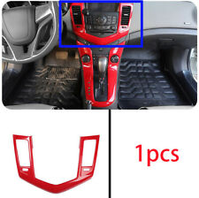 FOR Chevrolet Cruze 2010-2015 ABS red central console air outlet vent cover trim