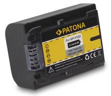 PATONA AKKU f. Sony HDR-CX110 HDR-CX170 NP-FV30 NP-FV50 NP-FV100