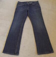 James Cured Jeans Sz 30 x 30 1/4 Boot Cut Low Rise Med Wash