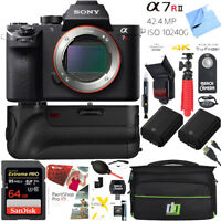 Sony a7R II Full-frame Mirrorless Camera a7R2 ILCE7RM2 64GB Battery Grip Pro Kit