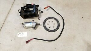 03-07 SKIDOO Rev 800 HO Electric Start Starter Motor Solenoid 600 SDI Ring Gear