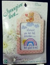 You Feel Good to Me, Cross Stitch Kit Includes Frame, Designs for the Needle NIP