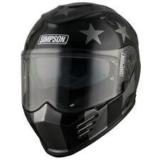 Simpson Venom Subdued Lightweight Full Face Motorcycle Motorbike Helmet US Star XXL