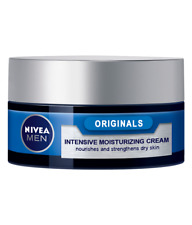 Nivea Moisturizing Cream Men Protect & Care Nourishes Strengthens Dry Skin 50 ml