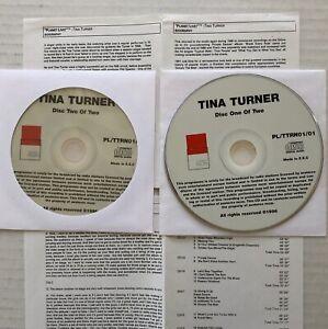 TINA TURNER Planet Live 1995 Promo Only E.U. RADIO SHOW CD & Cue ArenA Amsterdam