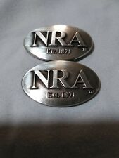 Nra National Rifle Association Lot of 2 Conchos with Screws