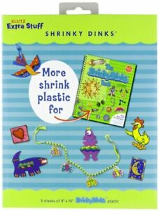 More Shrink Plastic for Shrinky Dinks (Klutz Extra Stuff) by Klutz Press Book