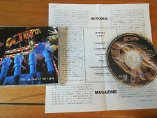 """All The Fear Of The Fayre Octopus Japanese CD single (CD5 / 5"""") sample promo"""