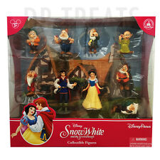 Disney Parks Snow White Figurine Playset Play Set Cake Topper NEW 2013 NEW!