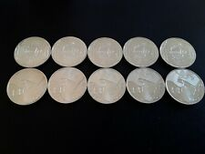 10 Euros x 1 - argent AQUITAINE France 2010