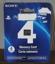 New! Genuine Sony PlayStation PS Vita 4GB Memory Card - U.S. Retail Version