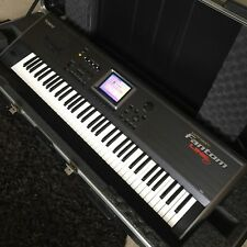Roland Fantom FA-76 Synthesizer with SBK Hard Case With Roller - VERY NICE!!