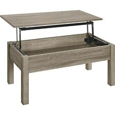 Coffee Table with Storage Lift Top Design Great for Living Dorm Room