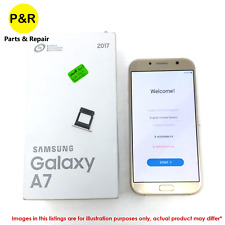 New listing P&R Samsung Galaxy A7 32Gb A720F 2017 Gsm Unlocked Phone Gold Read Description