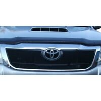 ZUNSPORT BLACK FRONT UPPER GRILLE for TOYOTA HILUX 2011- ZTY57311B