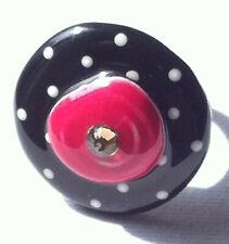 TARATATA - BAGUE DESIGN - ORIGINAL RING SIGNED - VINTAGE FRANCE