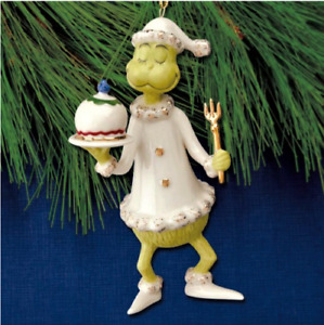 Lenox 2020 Grinch Serves the Feast Annual Grinch Ornament Dr Seuss (New in Box!)