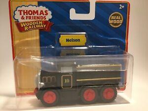 Thomas Wooden Railway Nelson NIP Vintage HTF Black Truck Train Set Road Vehicle