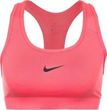 5c08f39b2a78b Nike Victory Compression Sports Bra Size S M L Hot Pink Black 375833 620 DRI -FIT